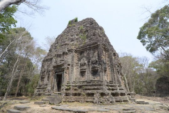 Temple Zone of Sambor Prei Kuk Archaeological Site of Ancient Ishanapura