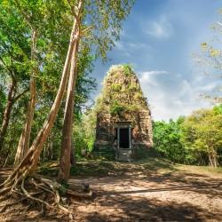 Temple Zone of Sambor Prei Kuk Archaeological Site of Ancient Ishanapura